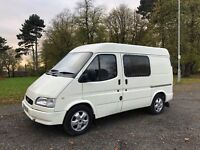 Transit Camper Race Van Great for Track Day Moto x 1998 Ford RS not a T4