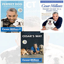 Cesar Millan Collection Animal Care & Pets 3 Book Set,Perfect Dog,Cesar's Way PB