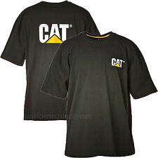 Caterpillar T shirt Men CAT Short Sleeve Trademark Logo Tee T- Shirts Cotton Top