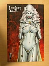 Lady Death Nightmare Symphony #1 NAUGHTY Variant Cover by MIKE DEBALFO Signed
