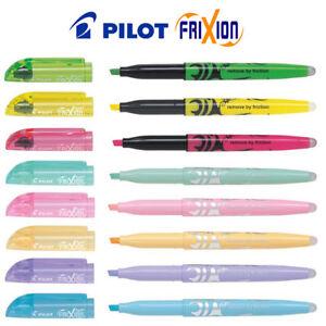 Pilot FriXion Light Erasable Hi-lighter (Highlighter) Pen - choose colour