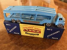 Vintage Matchbox Major / MIB / Bedford Car Collection Transporter / No. 2