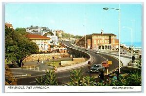 Postcard New Bridge Pier Approach Bournemouth Dorset