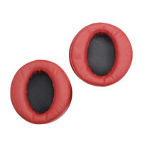 Headphone Ear Pads Cushion Covers for SONY MDR-XB950BT MDR-XB950N1 Red