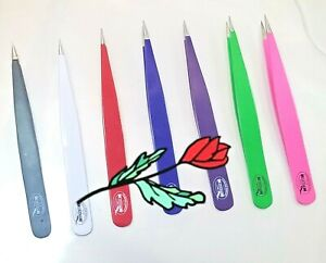 Surgical Tweezers for Ingrown Hair Precision Sharp Needle Pointed (6 pieces lot)