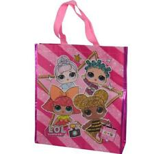 """LOL Surprise Large """"Eco Friendly"""" Non Woven PP Tote Bag New w/tag Licensed Item"""