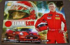 2016 Ethan Low John Cooper Works JCW BMW Mini Cooper IMSA CTSC postcard