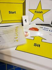 AKC Rally Signs Novice Class Only Laminated set with Practice Courses
