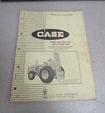 Case 310B M420 430 440 Fork lift Forklift Parts Catalog Manual B904 1965