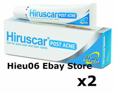 2 of 10g Tube Hiruscar 3 in 1 Post Acne Gel Reduce Acnes Scars Blemishes Redness