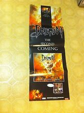 DAEMON Second Coming Seven Deadly Sins Poster Konkhra Hellacopters Entombed RARE