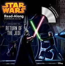Star Wars: Return of the Jedi Read-Along Storybook and CD - BRAND NEW!
