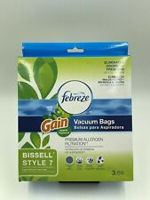 Febreze Vaccuum Bags Gain Scent BISSELL STYLE 7 3 PER PACK!  New