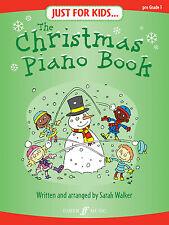 Just For Kids Christmas Songs Piano Niños Solo principiante Faber música Libro