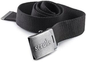 Scruffs Graphite Grey Clip Belt Men's Work Trousers Worker Plus 3D Trade