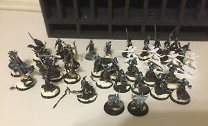 Warmachine Hordes Everblight Blighted Nyss Infantry mostly painted