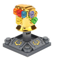 Marvel Thanos Chrome Gold Gauntlet For Lego Minifigure,  Brand New Gift For Kids