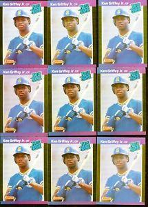 1989 Donruss Ken Griffey Jr #33 Rookie 15 Card Lot Possible PSA 10  No Reserve