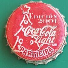 MEXICO 2001 christmas COCA COLA kronkorken bottle caps capsule chapas