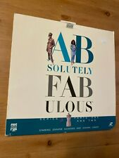 ABSOLUTELY FABULOUS 2-Laserdisc Good condition