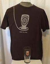 New Castle Brown Ale Beer T-Shirt & Pint Glass Logo Promo XL Pilsner Gift Dog