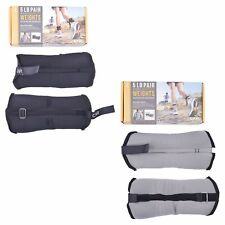 CAP 5lb (2.5lb Each) Ankle Wrist Weight Set Strength Training At Home Workout