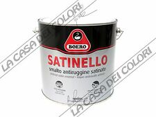 BOERO SATINELLO - TINTE RAL - 2,5 lt - SMALTO SATINATO