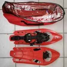 Inook VXM Schneeschuhe rot, mit Tasche EU 38-47 - Made in France - 1 x gelaufen
