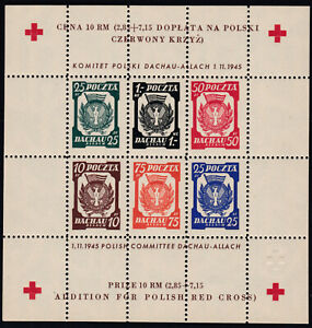 Lagerpost Dachau Rot Kreuz Block