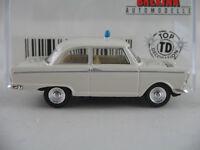 """Brekina 28108 DKW Junior de Luxe (1961) """"POLIZEI"""" in weiß 1:87/H0 NEU/OVP"""