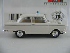 "Brekina 28108 DKW JUNIOR DE LUXE (1961) ""POLIZIA"" IN BIANCO 1:87/h0 Nuovo/Scatola Originale"