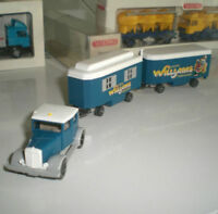 WIKING SEMI-REMORQUE 853 30 CAMION HANOMAG CIRCUS WILLIAMS CIRQUE 1:87 HO NEUF