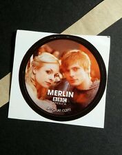MERLIN BBC PHOTO TV GETGLUE GET GLUE STICKER