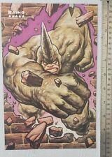 Marvel Masterpieces Rhino RARE Print