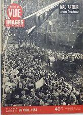 Point sight 1951: MAC ARTHUR_MISTINGUETT_KATHERINE HEPBURN
