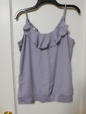 NWT MAURICES LAVENDER Spaghetti Strap Blouse Size Medium - MSRP $26