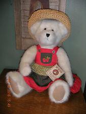 "Boyds Bears Plush 2006 ~16"" Tessa Strawbeary~ Strawbeary Fields Family"