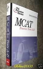 書 Brand New!!! Princeton Review MCAT Practice Tests A-D