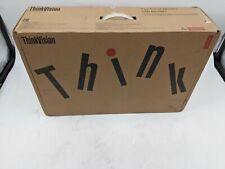 "New Lenovo Thinkvision P24q-10 24"" 2560x1440 Monitor - CL2655"