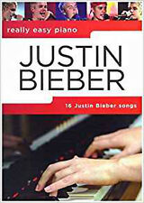 Really Easy Piano: Justin Bieber, New, Justin Bieber Book