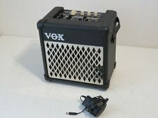 Vox Mini 5 Rhythm Battery Powered Guitar Amplifier with Power Supply