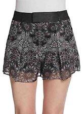 Helmut Lang $360 Mandela Silk Lined Shorts Bnwot US 6 / UK 10 Women's Designer