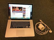 "USED COND Apple MacBook Pro 15"" Late 2008 Core 2 Duo 2.4 GHz 8GB 250GB HD #M2"