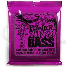 Ernie Ball Bajo Guitarra Cuerdas 2831 Power Slinky 55-110