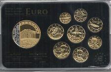 Grecia euro Prestige coinset, Gold & rodio, 24 quilates de oro, nuevo, embalaje original