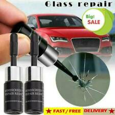 2*SET Automotive Glass Nano Repair Fluid Car Window Glass Crack Chip Repair