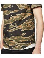 G-STAR RAW Mens BRISTUM UTILITY Shirt Size M Combat Short Sleeve RRP$110 NWT
