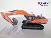 DOOSAN 1/50 DX380LC-9C Hydraulic Excavator Diecast Engineering Vehicle Model