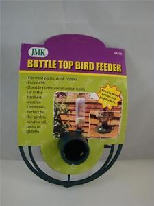 Hanging Soda Bottle Top Wild Bird Feeder Green Feeder Kit New