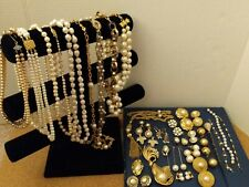 resale - repurpose. Not tested Vintage assorted jewelry: Wear -